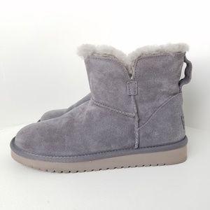 Koolaburra by UGG Short Grey Boots NWOB